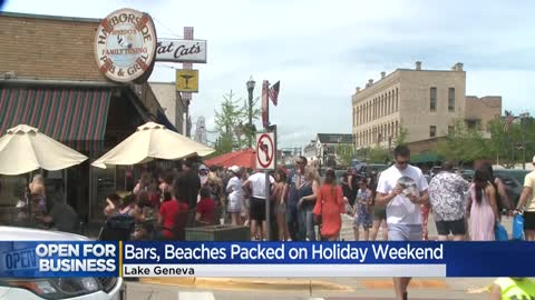 Thousands flood Lake Geneva on Memorial Day weekend